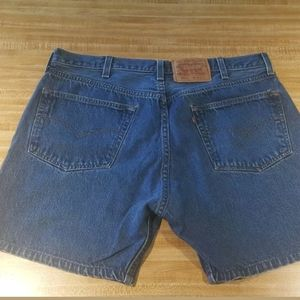 Vintage Levi 501 Button Fly Shorts 40 measured 36